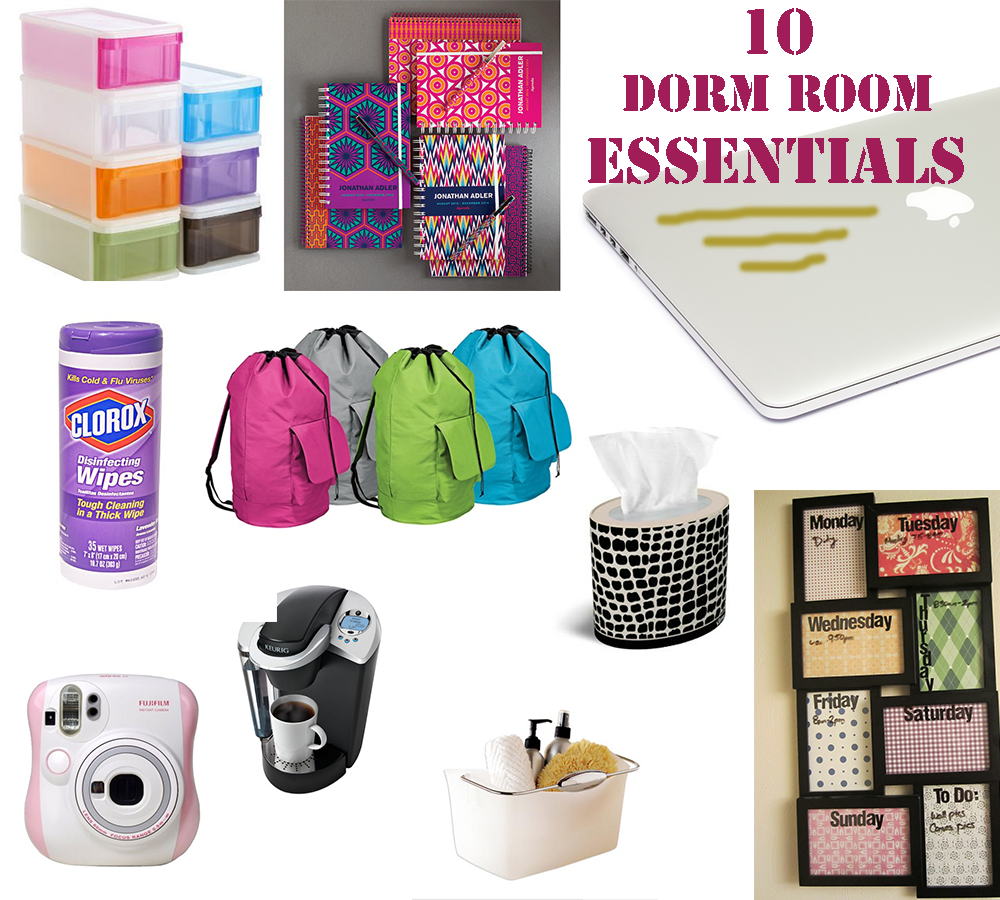 Dorm Room Essentials - Dorm room essentials