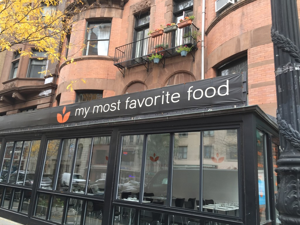 MY MOST FAVORITE FOOD NYC